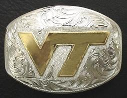 Virginia Tech Buckle