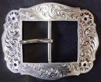 1-1/2 in. Vintage Center Bar Buckle