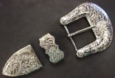 German Silver Buckle