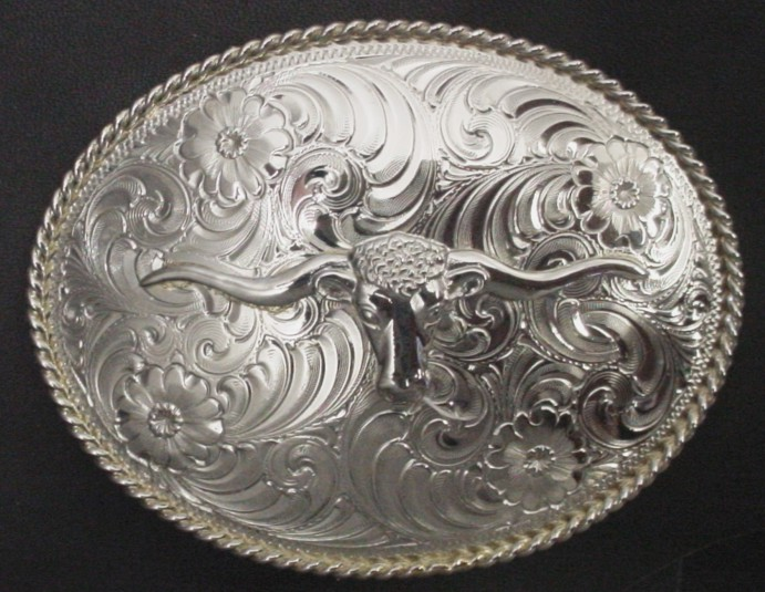 Longhorn Steer Buckle