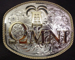 Oil Logo Buckle