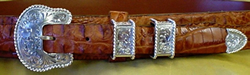 4 piece buckle set