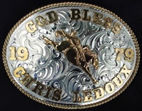 Chris LeDoux Buckle